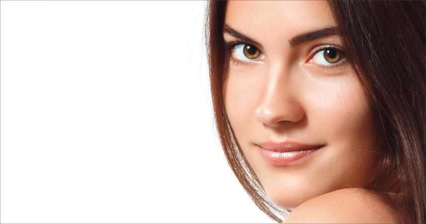 Bild Frau mit braune Haut, Hauttyp 4