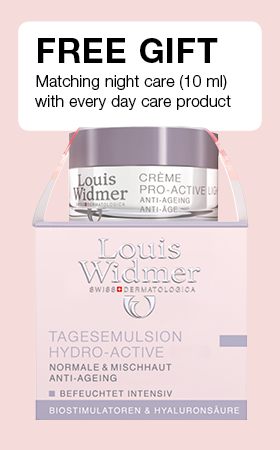 Free gift night care (10 ml) with every day care product