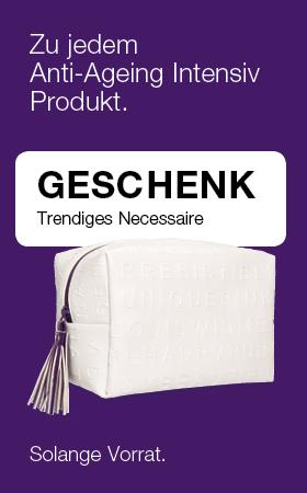 [Translate to de-DE:] Geschenk trendiges Necessaire zu Anti Ageing Intensiv 2019