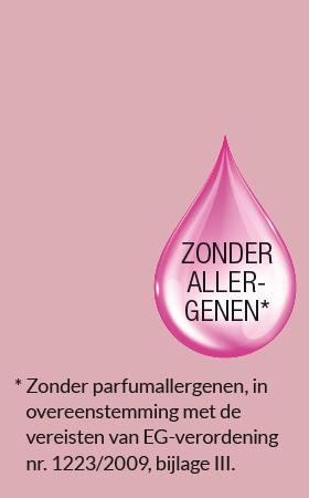 Zonder parfumallergenen, in overeenstemming met de vereisten van EG-verordening
