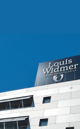 Bild von Logo und Gebäude Louis Widmer SA Schlieren