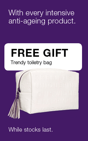 Anti Ageing Intensive with one free Gift trendy toiletry bag