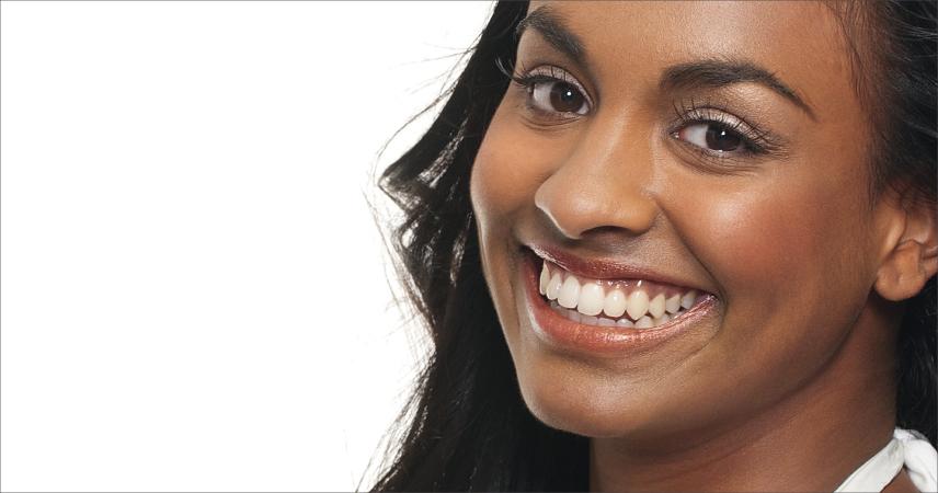 Bild Frau mit sehr dunke Haut, Hauttyp 6