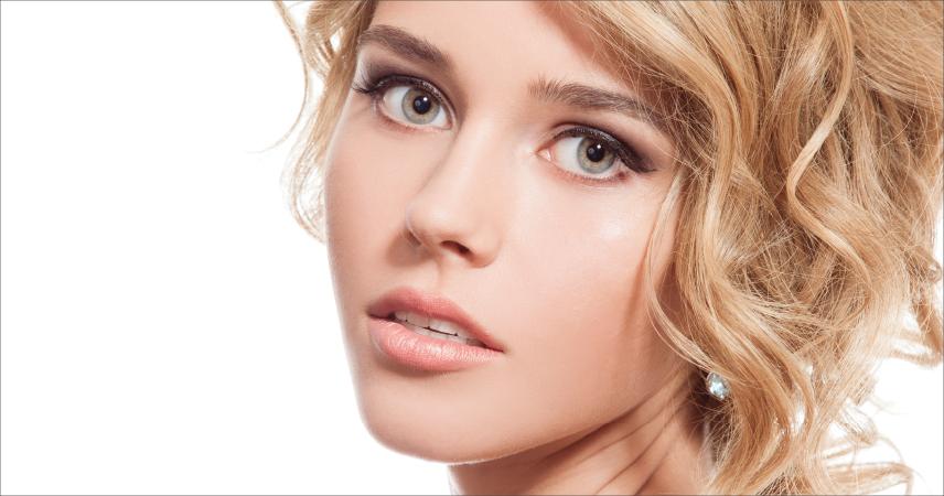 Bild Frau mit Hauttyp 2, helle Haut