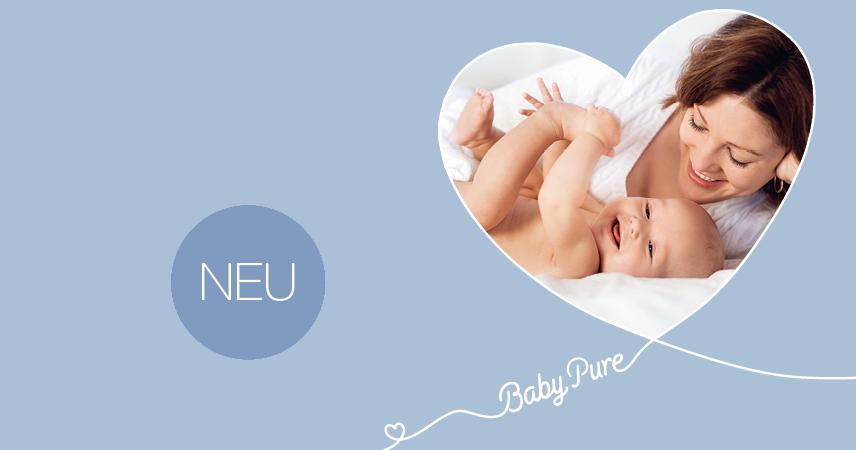 Bild BabyPure von Hebammen empfohlen. Puristische Formel