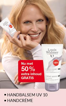 Handbalsem UV10 en Handcrème nu met 50% extra inhoud gratis