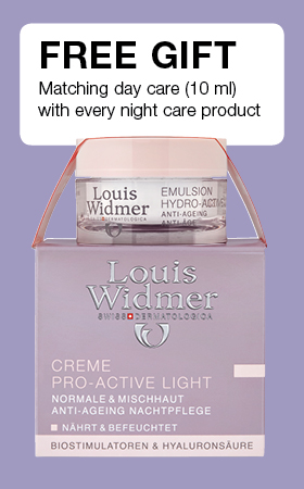 Free gift with every night care one day care (10 ml) product